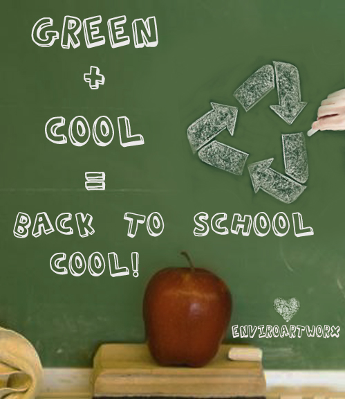 School is Cool in Green!
