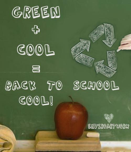 School is Cool in Green!