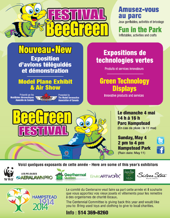 BEE GREEN THIS MAY!