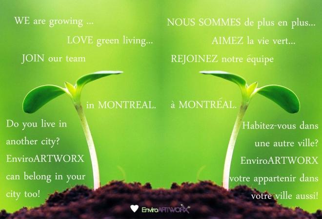 GROWING GREEN...